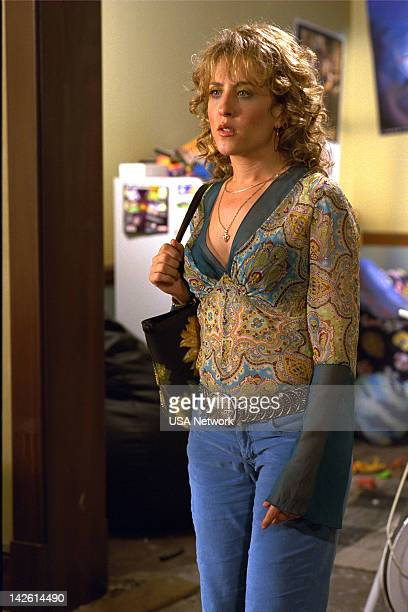 MONK Mr Monk and the Earthquake Episode 1 Pictured Bitty Schram as Sharona Fleming