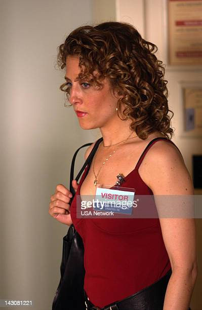 MONK Mr Monk Goes to Asylum Episode Pictured Bitty Schram as Sharona Fleming