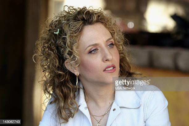 """Mr. Monk Goes to Mexico"""" Episode 2 -- Pictured: Bitty Schram as Sharona Fleming --"""