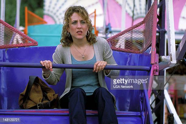 MONK Mr Monk Goes to the Carnival Episode 5 Pictured Bitty Schram as Sharona Fleming