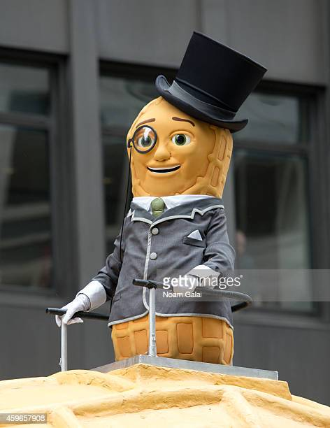 Mr Peanut attends the 88th Annual Macys Thanksgiving Day Parade at on November 27 2014 in New York New York