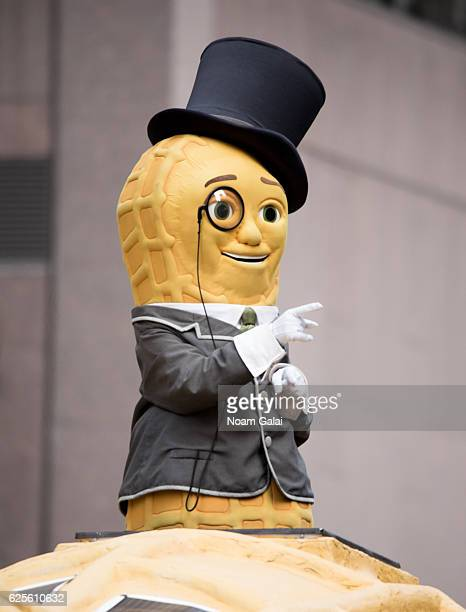 Mr Peanut attends the 90th Annual Macy's Thanksgiving Day Parade on November 24 2016 in New York City