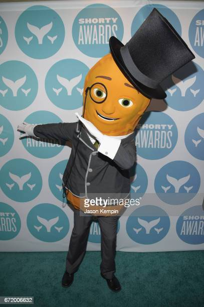 Mr Peanut attends the 9th Annual Shorty Awards at PlayStation Theater on April 23 2017 in New York City