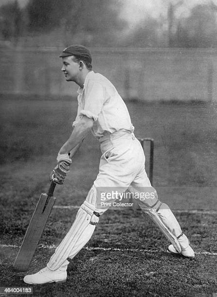 Mr PF Warner Middlesex and England cricketer c1899 A righthanded batsman Pelham 'Plum' Warner played for Oxford University Middlesex and England...