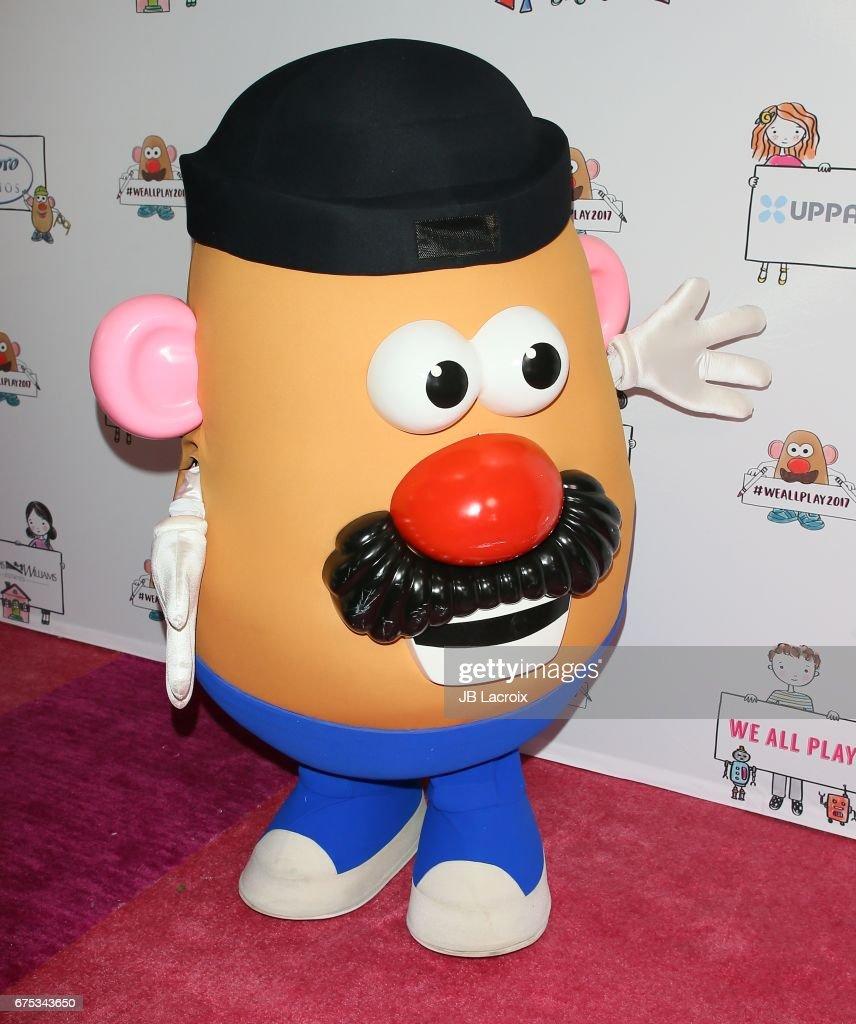 mr potato head attends zimmer children s museum event on april 30