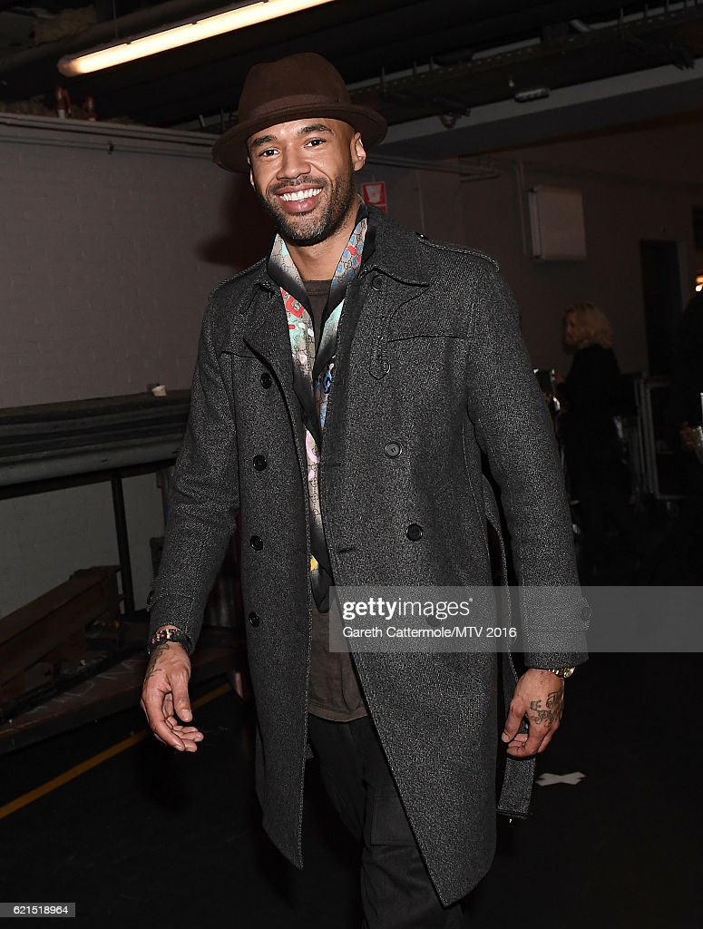 Mr. Probz seen backstage during the MTV Europe Music Awards 2016 on November 6, 2016 in Rotterdam, Netherlands.
