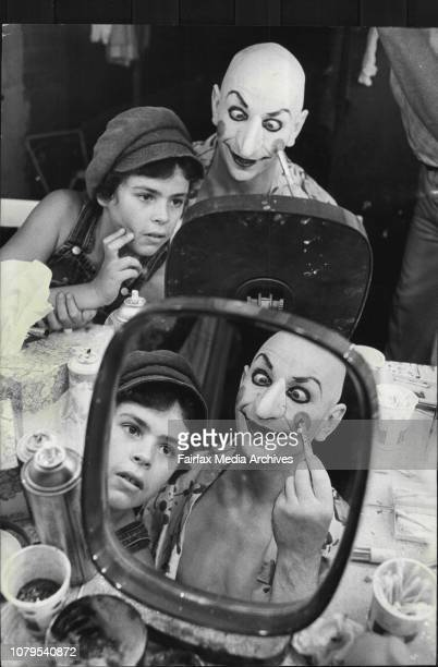 Mr Punch's Pantomime English stage actor Lindsay Kemp and his Company will be presenting a special production for children at the New Arts Cinema...