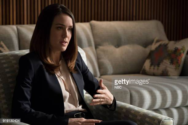 THE BLACKLIST Mr Raleigh Sinclair III Episode 514 Pictured Megan Boone as Elizabeth Keen