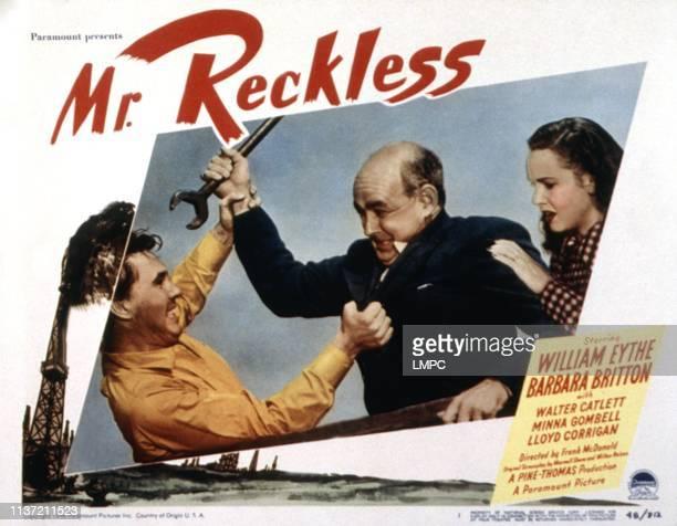 Mr Reckless lobbycardMr Reckless William Eythe Nestor Paiva Barbara Britton 1948