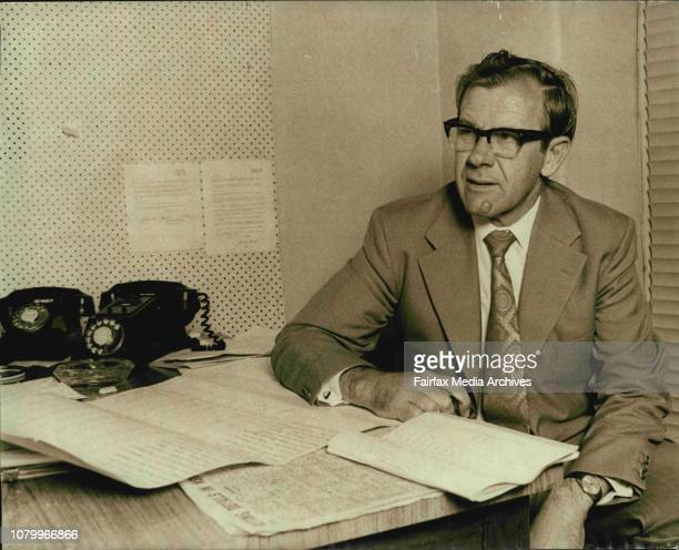 Mr Riordan at the Australian Labor Party Committee Rooms in Alison Road RandwickMr Joe M Riordan the newly elected member for Phillipdeposed Sir...