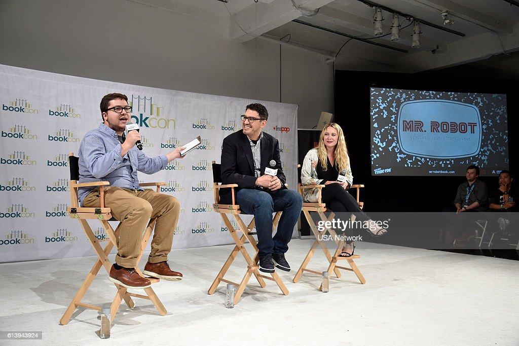 "USA Network's ""New York Comic Con 2016"" - Mr. Robot Panel"