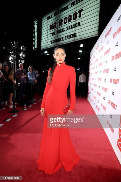 MR ROBOT Mr Robot Season 4 Premiere Pictured Emmy Rossum
