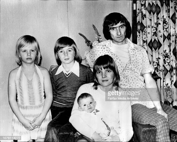 Mr Ron Greenwood with his wife Alison and his family Amanda 9 Clive at their Home tonight in IngleburnEnglish migrant Ron Greenwood says he has come...