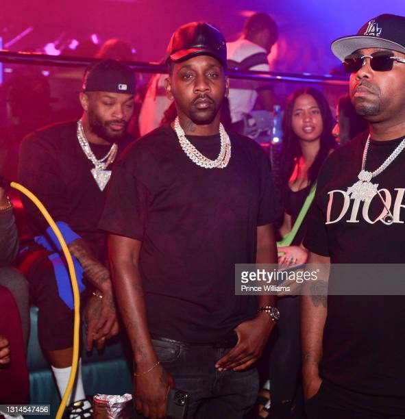 Mr Rugs attends Moneybagg Yo Album Release Party at Republic Lounge on April 24, 2021 in Atlanta, Georgia.