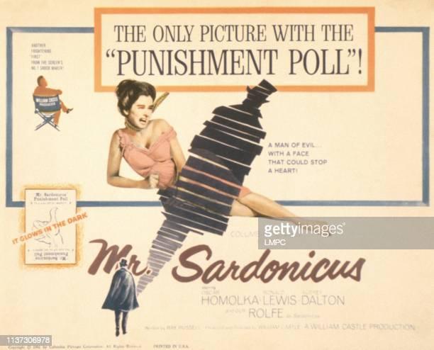 Mr Sadonicus posterMr Sadonicus US poster Audrey Dalton 1961