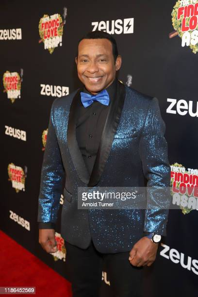 Mr Salsa attend Tokyo Toni's Finding Love ASAP Los Angeles premiere at AMC Theaters Universal City Walk on November 08 2019 in Universal City...