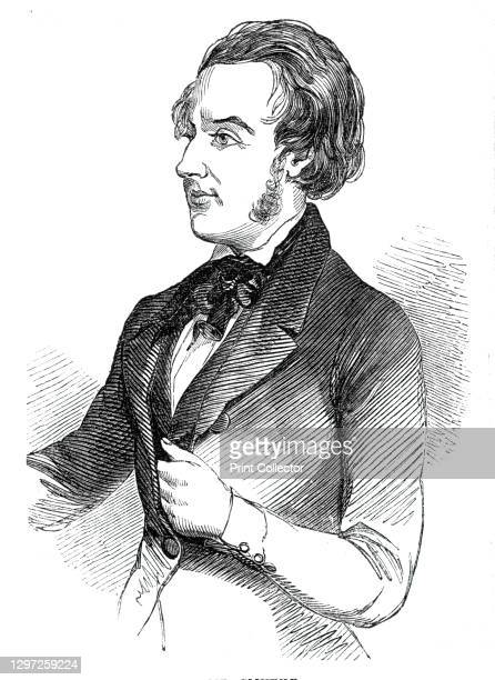 Mr. Smythe, 1844. Portrait of British MP George Smythe. 'We are far from saying that Mr. Smythe is an unruly or ill-conducted man - quite the...