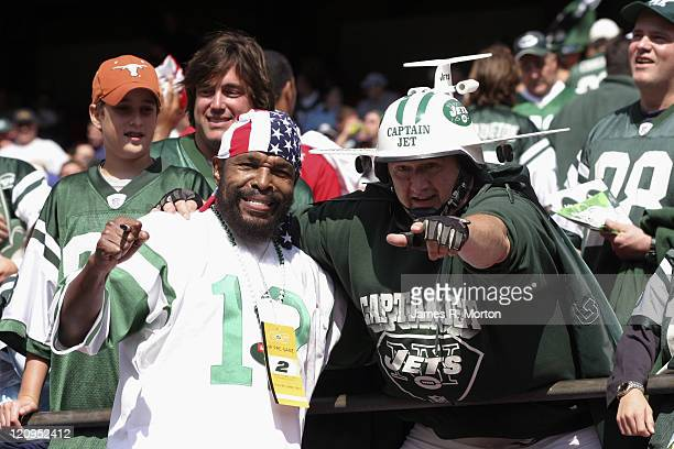 Mr T and Captain Jet were on hand to watch as the Indianapolis Colts defeated the New York Jets by the score of 31 to 28 at the Meadowlands sports...