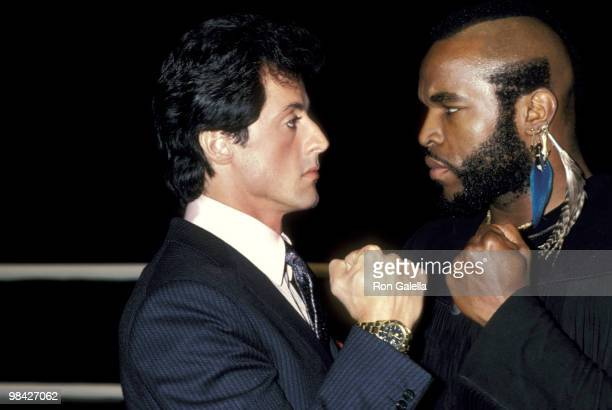 Mr T And Sylvester Stallone