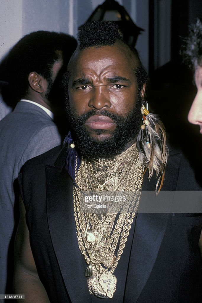 Mr T At The 9th Annual Peoples Choice Awards Santa Monica Civic