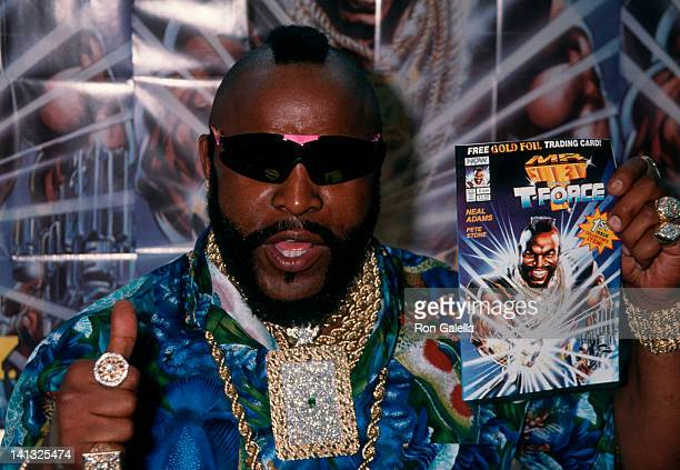 Mr T at the Mr T In Store Appearance for New Comic Book Golden Apple Toy Store Los Angeles