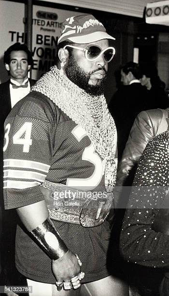 Mr T at the Premiere of 'Rocky IV' Westwood Village Theater Westwood