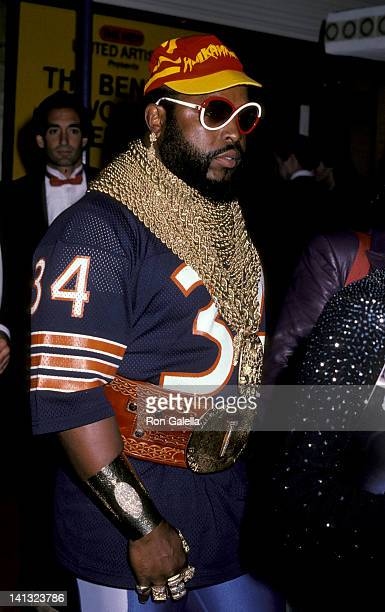 Mr T at the Rocky IV Los Angeles Premiere Westwood Village Theater Westwood