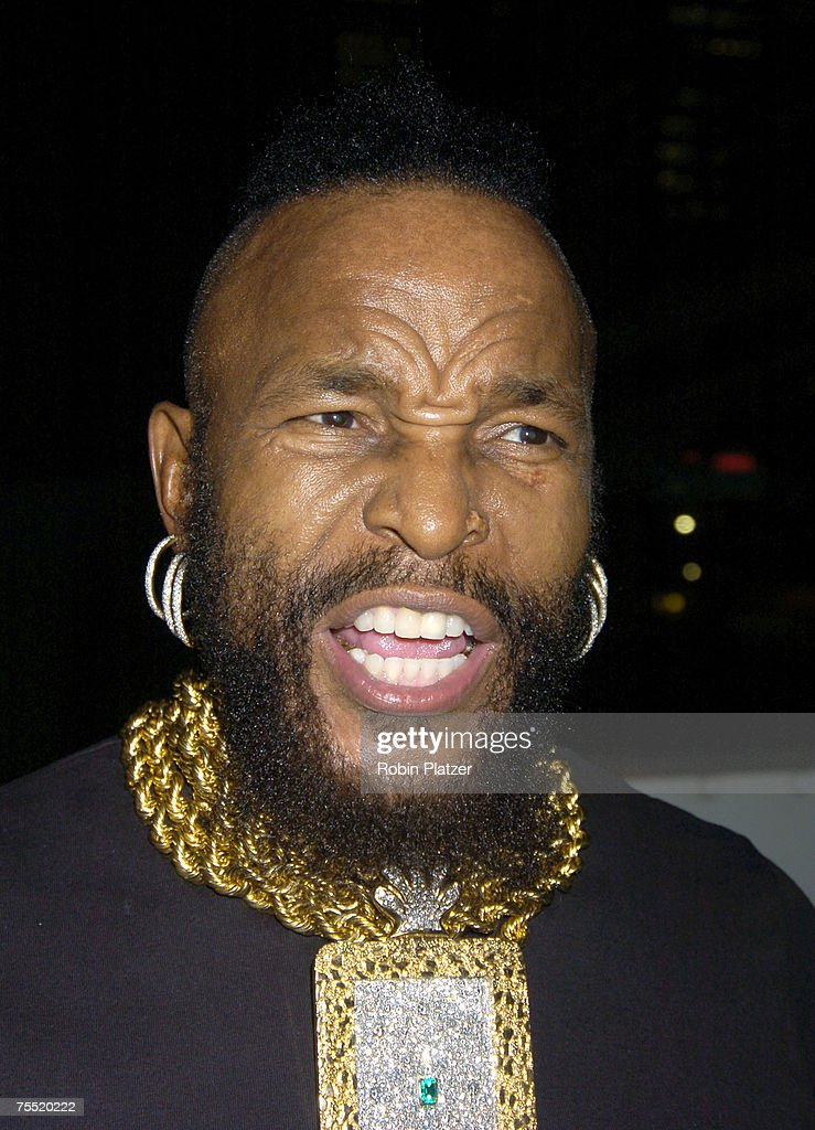 Mr. T at the The Hanes Perfect T Party - August 16, 2005 at The Peking at the South Street Seaport in New York City, New York.