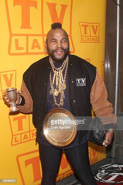 Mr T at the TV Land fifth anniversary celebration in New York City Photo Evan Agostini/ImageDirect