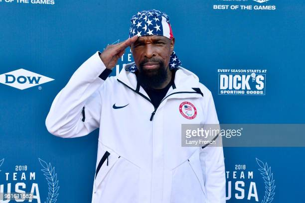Mr T attends the Team USA Awards at the Duke Ellington School of the Arts on April 26 2018 in Washington DC