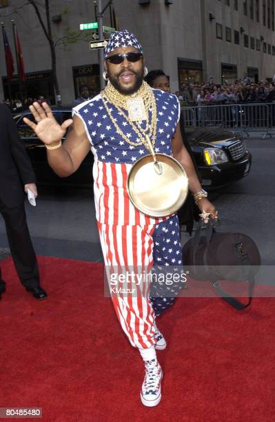 Mr T from NBC Show 'The A Team'