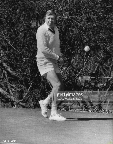 Mr Ted Harris in actionPlays a shot from Mr Hawke September 09 1983