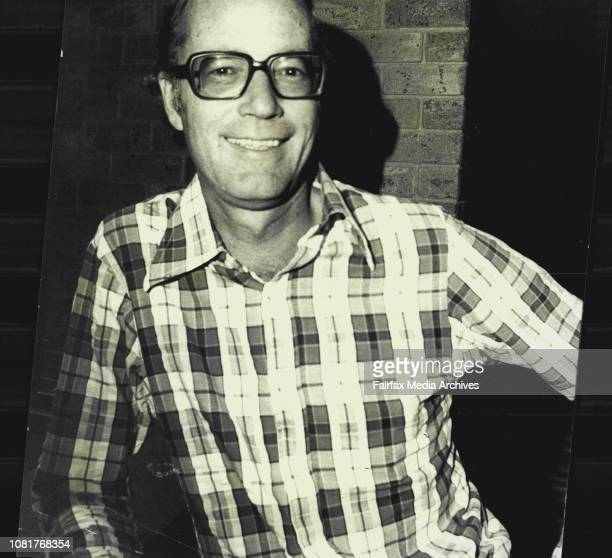 Mr Tony Carpenter Manager of Hilton Hotel Pitt Street photographed at San Francisko Bar at the Hotel January 31 1975