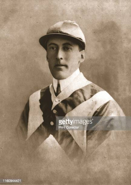 Mr V P Misa 1911 Portrait of jockey and racehorse owner Venture Paul Misa From British Sports and Sportsmen Racing Coursing and Steeplechasing Part...