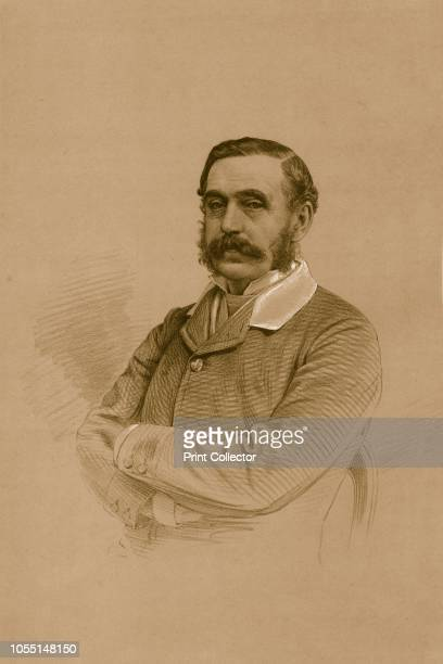 Mr. W.E.Oakeley', 1879. From The Sporting Gazette and Agricultural Journal, 15th March 1879.. Artist Vincent Brooks Day & Son.