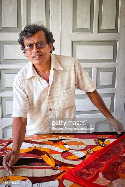 Mr.Dudly Silva is one of the best SriLankan Batik artist,lives in Ambalangoda,who have won numerous gold medals and featured in Lonely Planet Sri...
