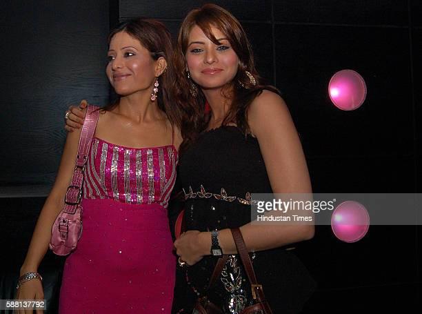 Mrinal Deshraj with Aamna Sharif Club Escape