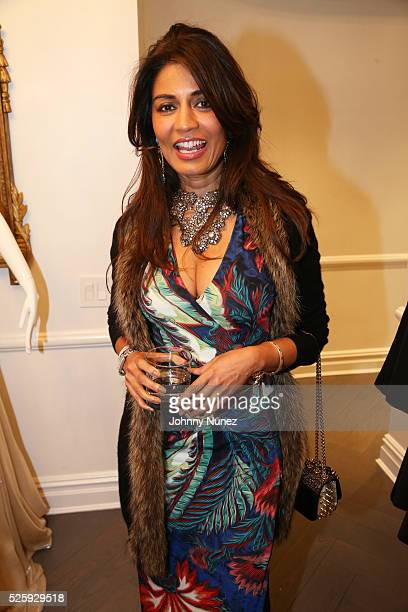 Mrinalini Kumari attends the American Cancer Society 11th Annual Taste Of Hope Gala at The Romona Keveza Penthouse Flagship on April 28 2016 in New...
