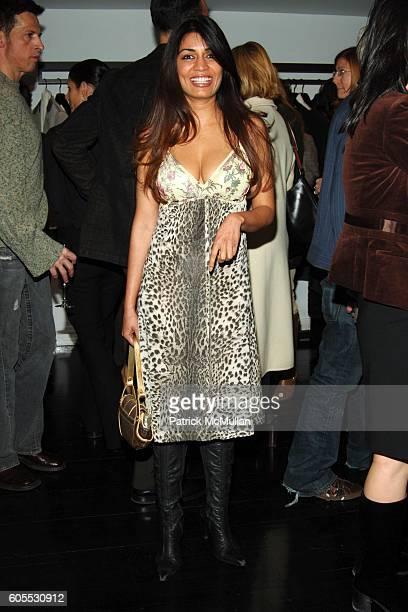 Mrinalini Kumari attends Valentino Donna PreHiver 2006 Defile at Valentino Showroom on January 26 2006 in New York City