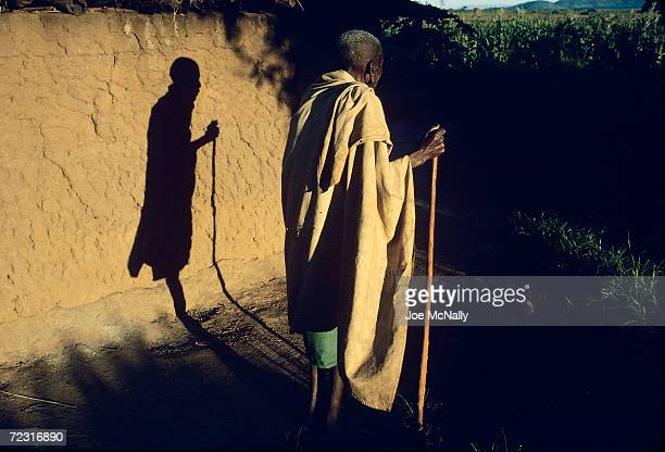 MrMazengo who was blinded by tracoma pauses in 1992 in LaikalaTanzania The microrganism responsible for tracoma is Chlamydia and it is most prevalent...