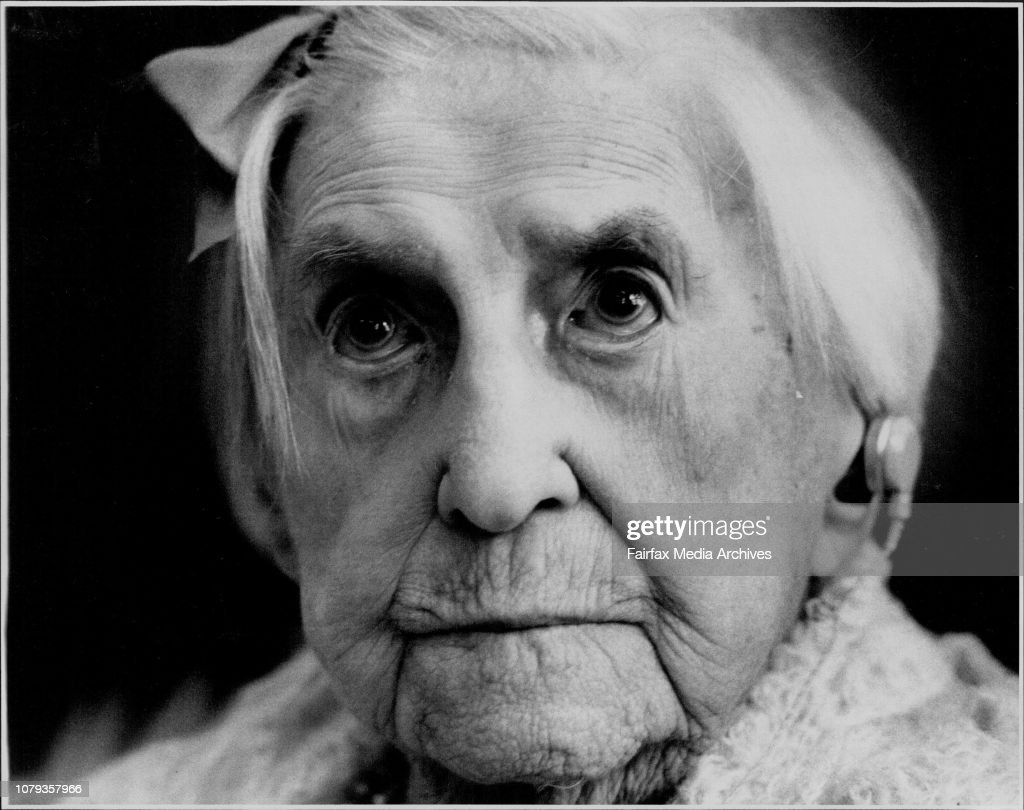 Mrs. Ada Whitfield 110 today....Ada Whitfield celebrates at the Lottie Stewart Hospital.Ada Whitfield thinks she is Australia's oldest woman.At 110, she must come close.Celebrating her birthday at Lottie Stewart Hospital at Dundas yesterday, she marked th : News Photo