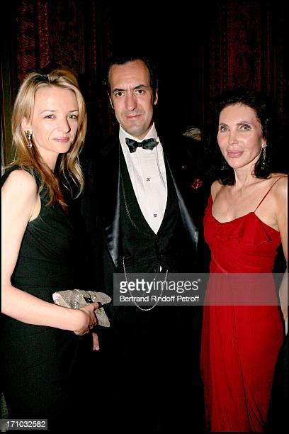 Mrs Alessandro Vallarino Gancia Duke of Lugo Jaime of Marichalar and Veronica Hearst AROP gala play La Traviata at the Garnier opera