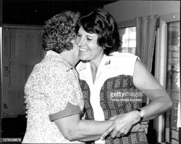 Mrs Angelus Venter of South Africa meeting her aunt Mrs Ann Baldwin of RiverwoodMrs Venter found her aunt through a story written in 'The Sun' after...