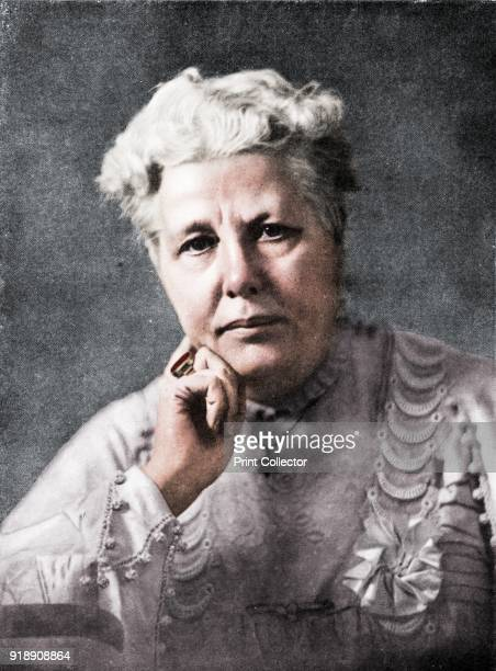Mrs Annie Besant' c1900 Annie Besant a prominent British socialist theosophist women's rights activist writer orator and supporter of Irish and...