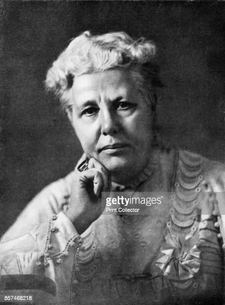 Mrs Annie Besant' circa 1900 Annie Besant a prominent British socialist theosophist women's rights activist writer orator and supporter of Irish and...