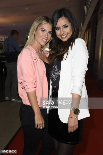 Mrs Bella and Tam Tam attend the Stylorama on November 18 2017 in Dortmund Germany