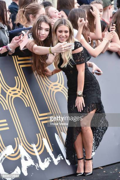 Mrs Bella arrives at the Echo Award 2018 at Messe Berlin on April 12 2018 in Berlin Germany