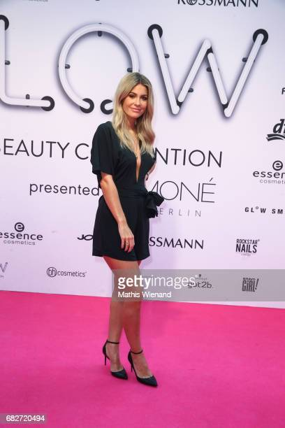 Mrs Bella attends the GLOW The Beauty Convention on May 13 2017 in Duesseldorf Germany