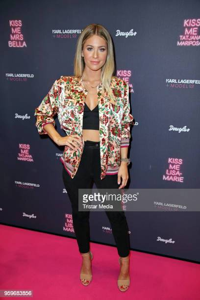 Mrs Bella attends the 'Kiss Me Karl Limited Edition' Launch during a Douglas Store Event at Europa Passage on May 17 2018 in Hamburg Germany