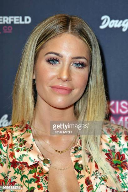 Mrs Bella attends the 'Kiss Me Karl Limited Edition' Launch during a Douglas Store Event at Europa Passage on May 17, 2018 in Hamburg, Germany.